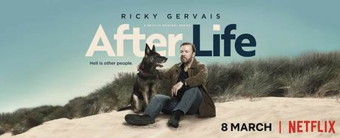 Ricky Gervais's rudeness is his super power in first trailer for Netflix series After Life
