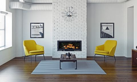Living room, Room, Interior design, Furniture, Yellow, Ceiling, Wall, Property, Floor, Building,