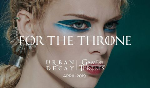 Urban Decay x Game Of Thrones Makeup