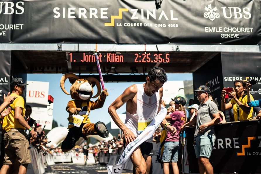 Kilian Jornet Bests Jim Walmsley in Trail-Running Showdown With Course-Record Time