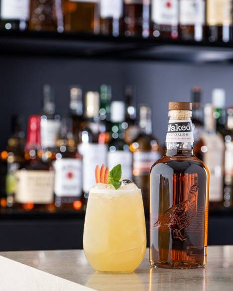 Naked Grouse apple sour cocktail recipe