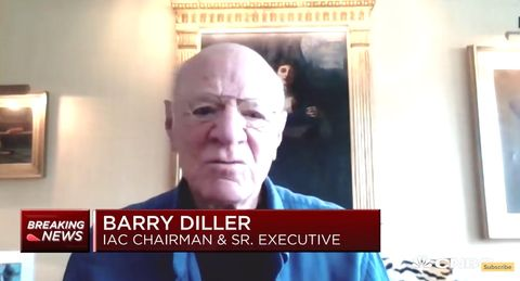 barry diller video call