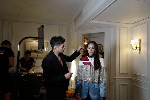 Urassaya Sperbund's Louis Vuitton show diary