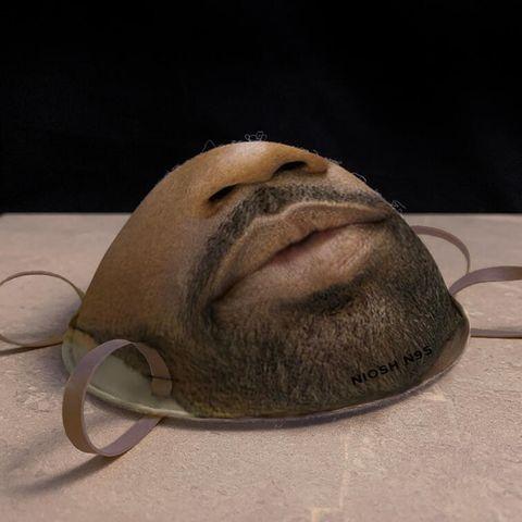 Head, Nose, Snout, Facial hair, Jaw, Art,