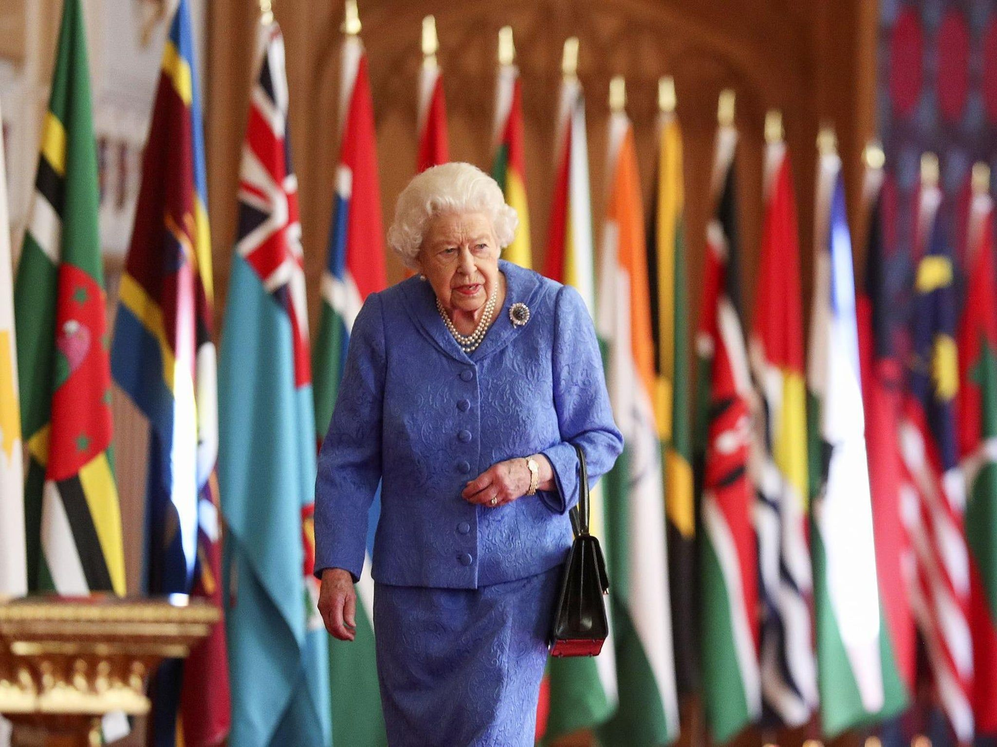 """The Queen Gives Commonwealth Speech About """"Dedication to Duty"""" Ahead of Sussexes' Oprah Interview"""