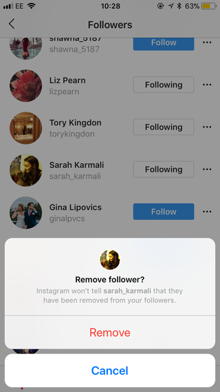 instagram is testing feature that allows public accounts to remove followers the verge Instagram Is Trialling A New Feature That Lets You Remove Followers