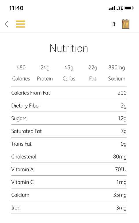 What Is A Mcrib Made Out Of Ingredients List And Nutrition