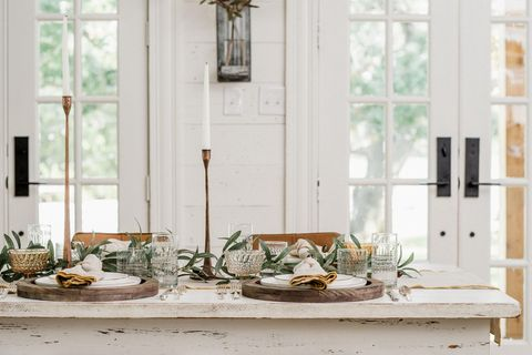 Room, Table, Furniture, Dining room, Interior design, Window, Home, Textile, Branch, Coffee table,