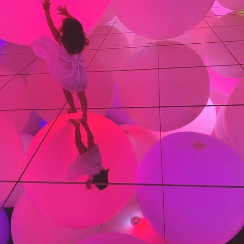ギャラリー以外の、東京アート巡り。teamlab planets tokyoにも行きました!