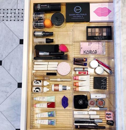 Instagram Worthy Makeup Drawer