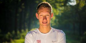 Björn Koreman eetdagboek hardloopwedstrijd