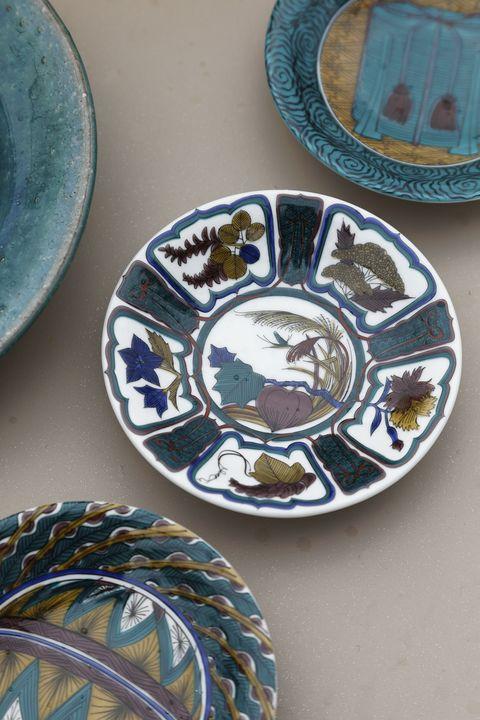 工藤和彦さんの緑粉引リム皿は、我が家でも大活躍の逸品