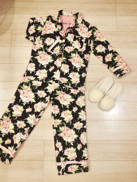 Clothing, Pink, Pattern, Sleeve, Camouflage, Pajamas, Pattern,