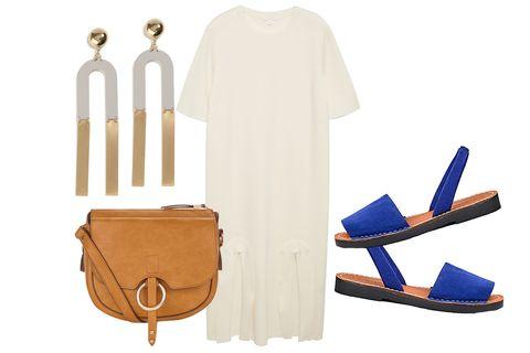 Beige, Footwear, Linens, Textile, Sleeve, Shoe, Trousers,