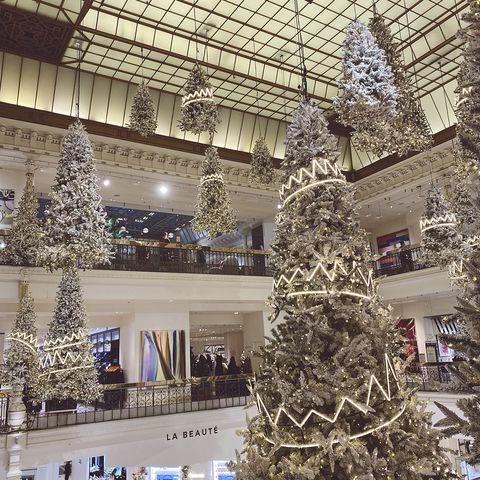 ボンマルシェのクリスマスデコレーション