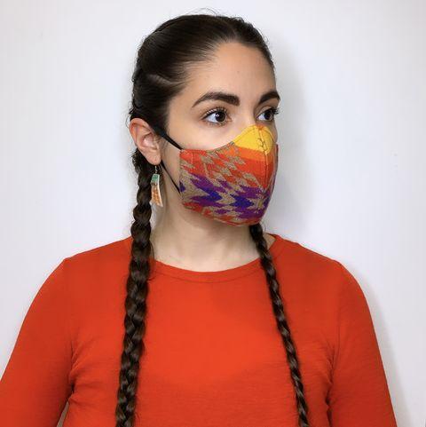 korina emmerich indigenous fashion designer masks