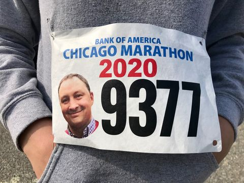 erika sahlman's bib with her brother's face on it