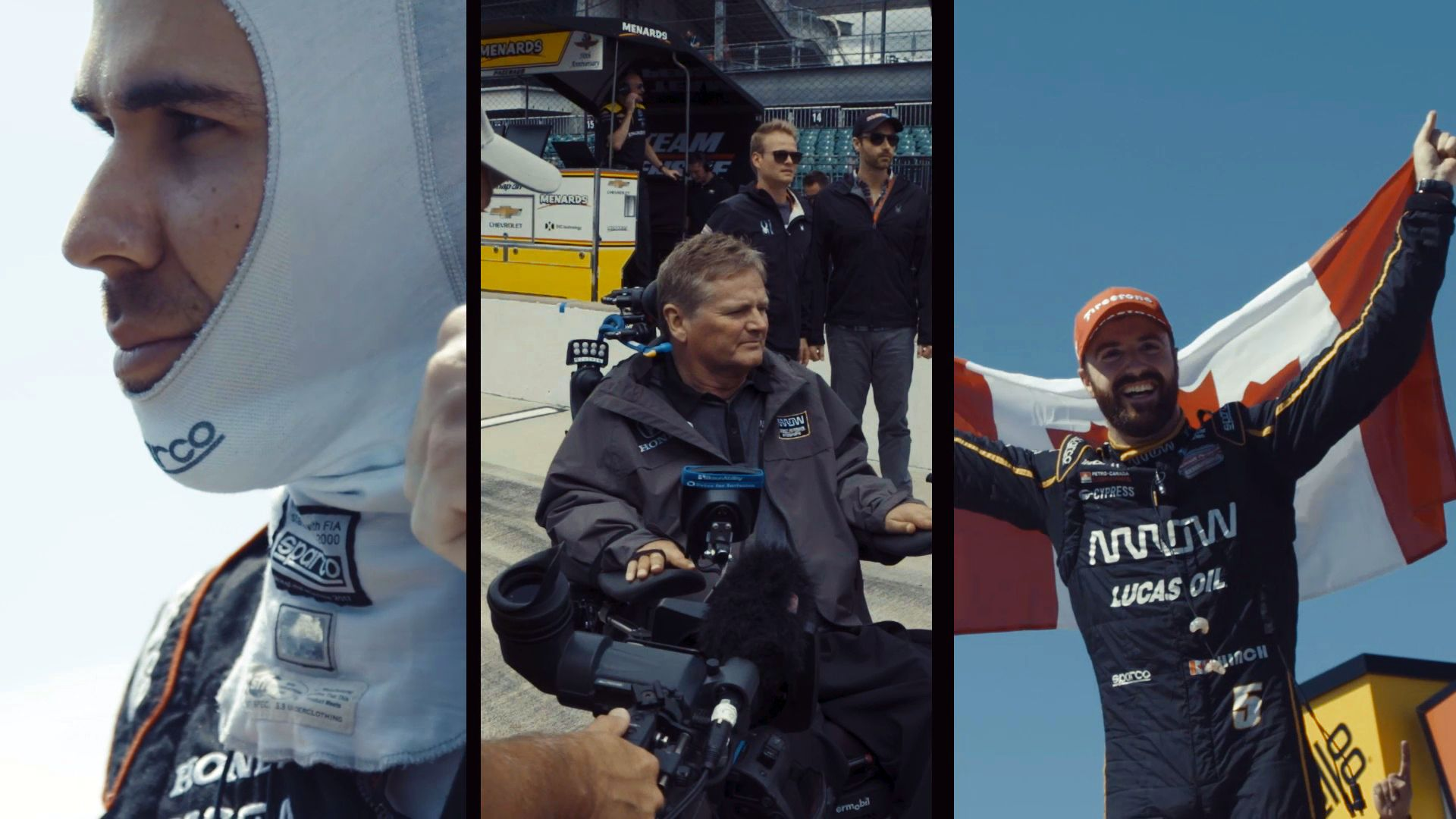 Robert Wickens, James Hinchcliffe, and Sam Schmidt on Racing and Recovery