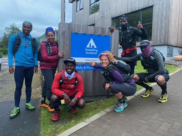 Black Trail Runners take on the Ramsay Round