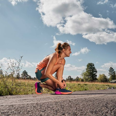 how to run safely alone