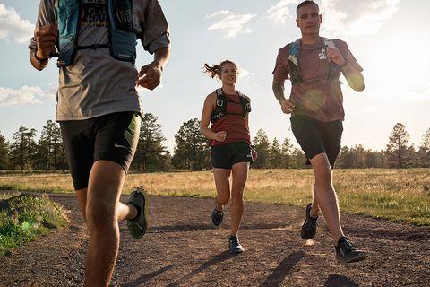 Running, Outdoor recreation, Jogging, Recreation, Long-distance running, Trail, Ultramarathon, Individual sports, Exercise, Water,