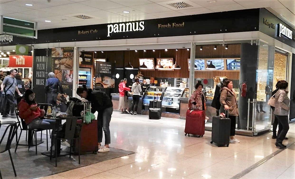 b9bc85f96 Pannus Café abre en el aeropuerto de Barcelona - Franquicias de cafeterías