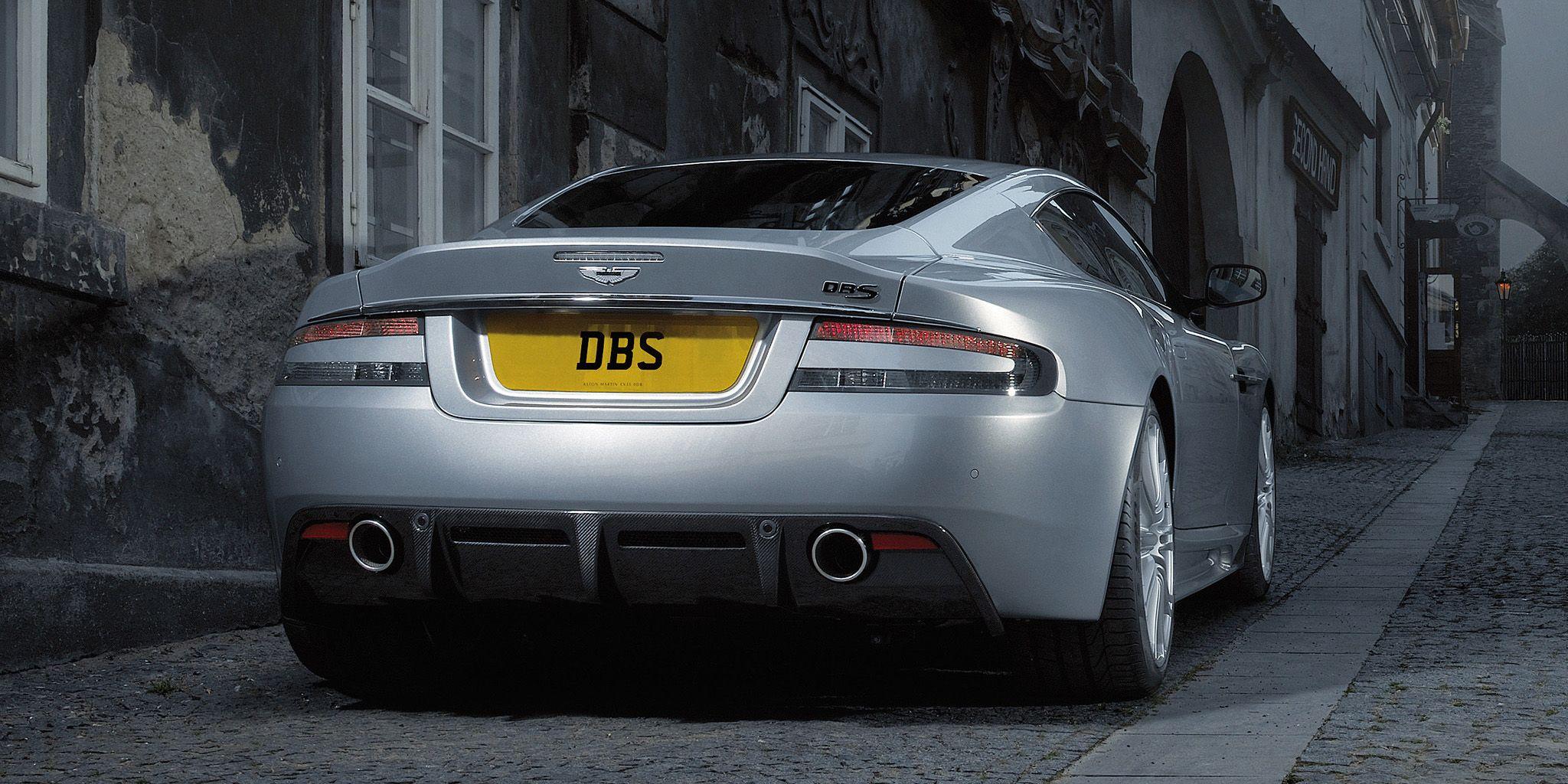 Aston Martin Vanquish Successor Will Bring Back Two Great Names - Aston martin dbs