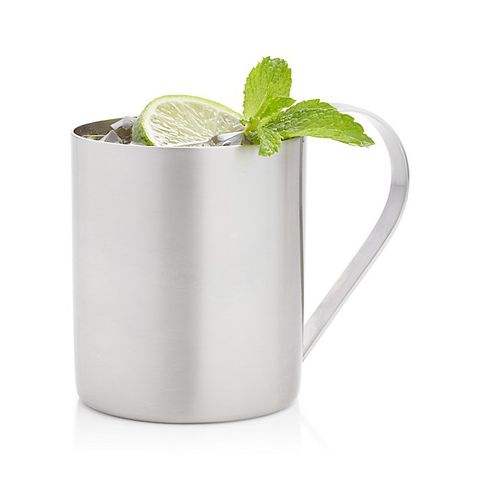 crate and barrel Moscow Mule Mug