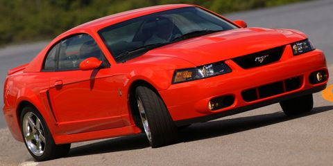 a 2004 ford mustang svt cobra is still a monster today