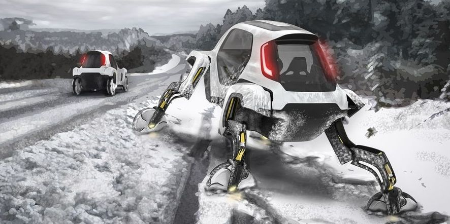 Maybe Hyundai Wants to Buy the Robot Dog to Make Its Cars Look Like This