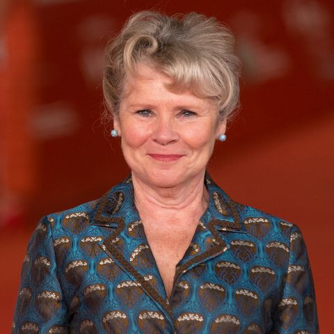 """Imelda Staunton during the red carpet for the movie """"Downton..."""