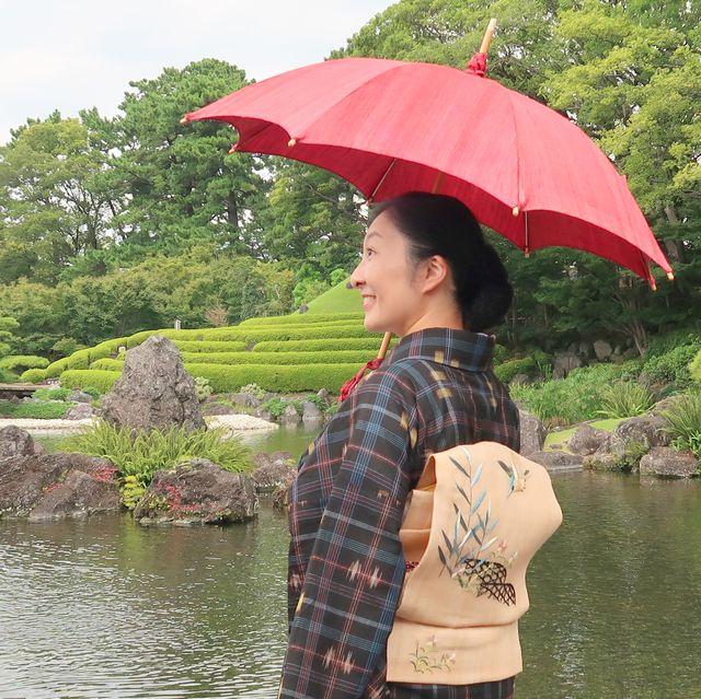 朝香沙都子さん 自然布