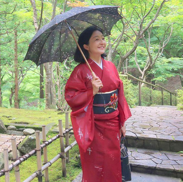 朝香沙都子さん 琉球上布