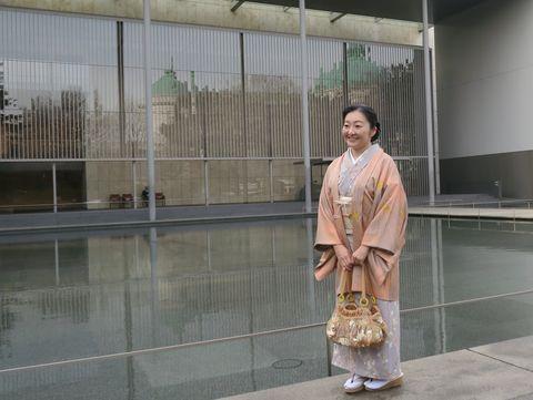 朝香沙都子さん 着物コート 羽織