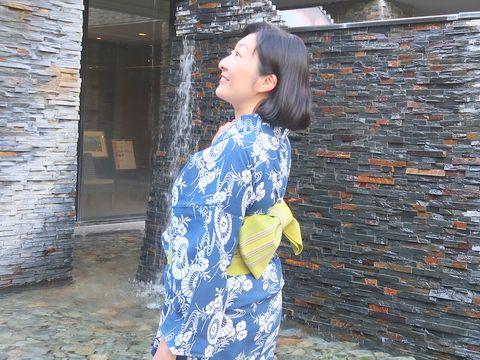 朝香沙都子さん 長板中形