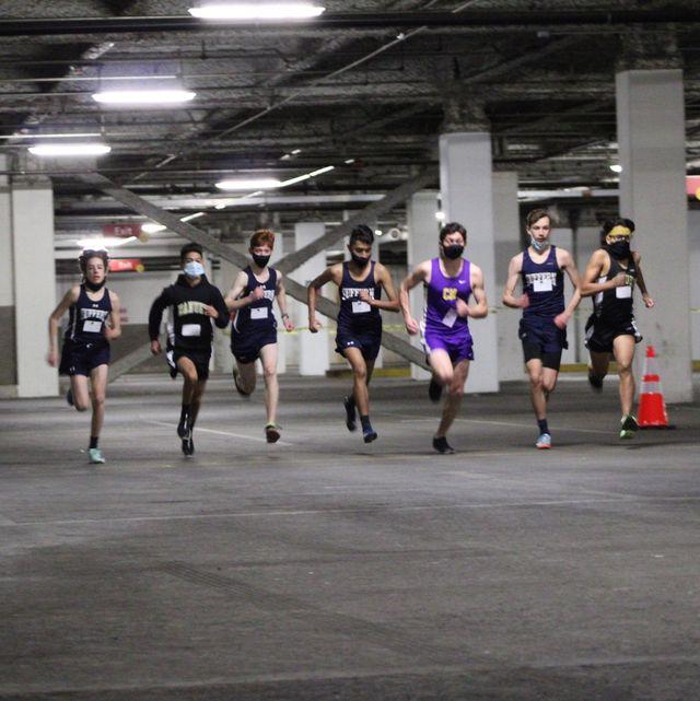 parking lot garage track meet in new york