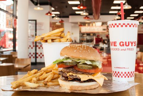 How To Get Free Five Guys Next Week