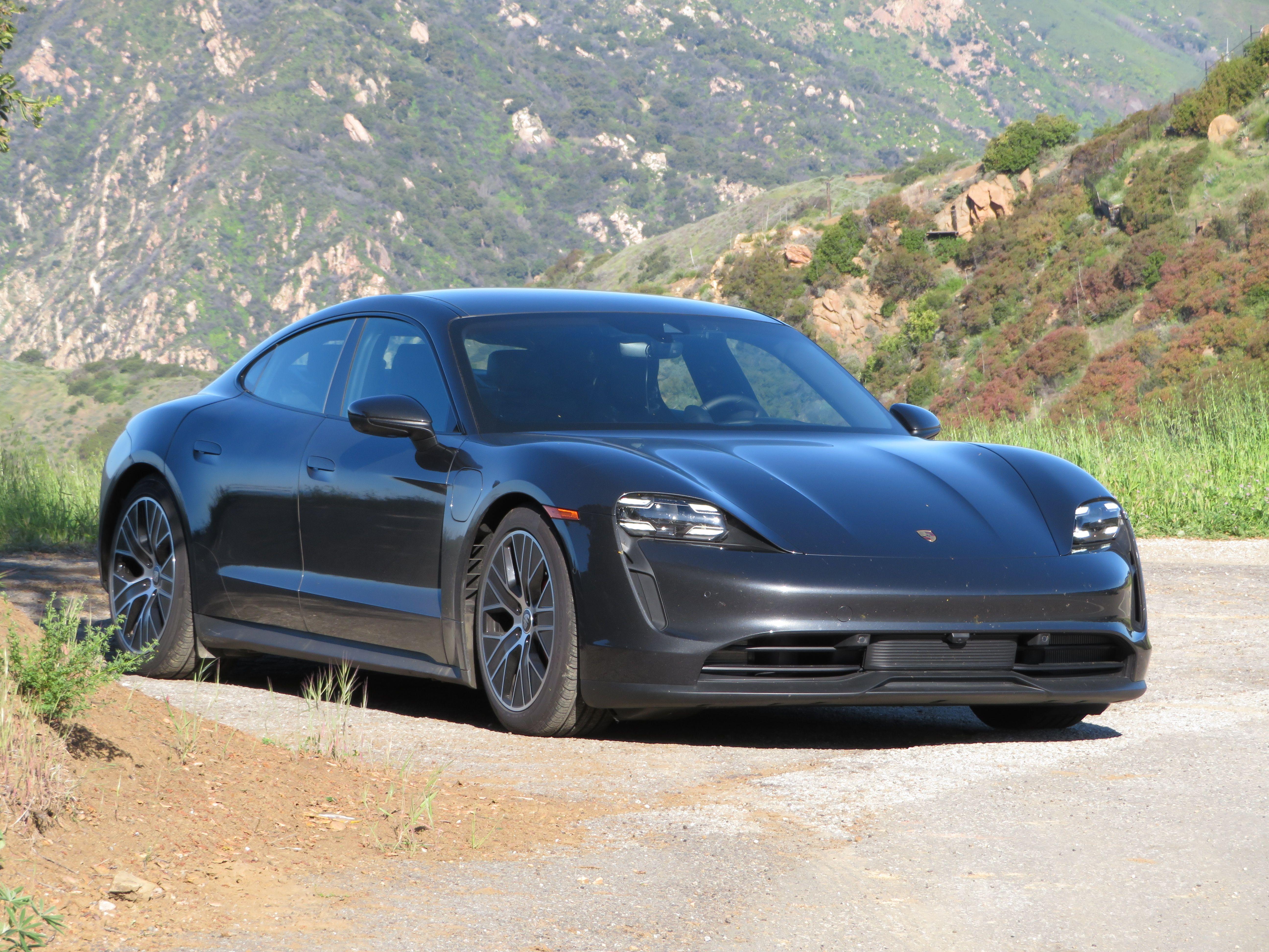 2021 Porsche Taycan 4s S Epa Range Beaten Review Photos