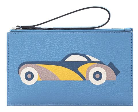 Handbag, Bag, Wristlet, Fashion accessory, Electric blue, Coin purse, Vintage car, Games,