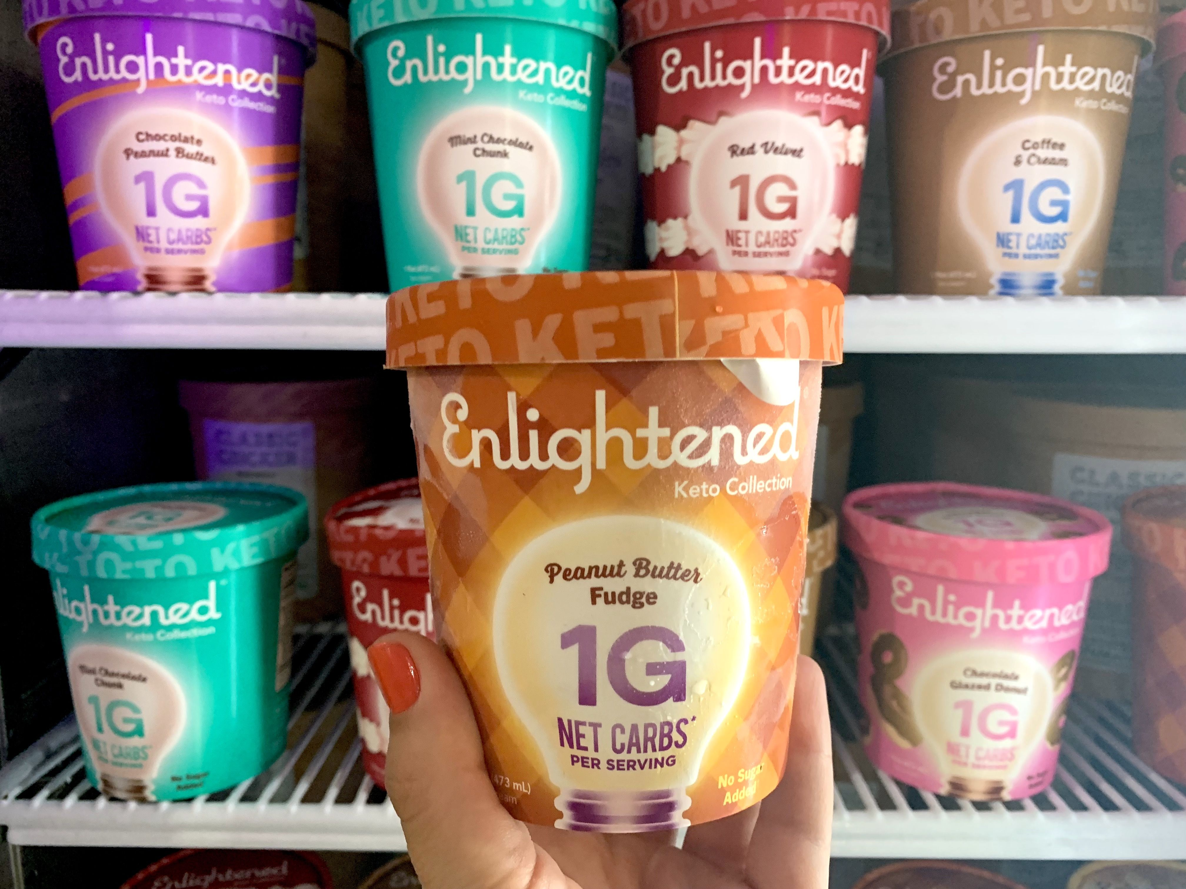 ice cream sold in stores for ketogenic diet