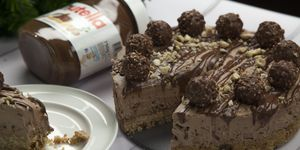 You're not ready for this Ferrero Rocher and Nutella cheesecake recipe