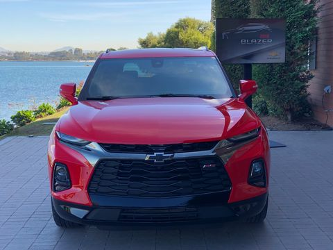 hot sale online e31c1 06015 image. The 2019 Chevy Blazer RS.