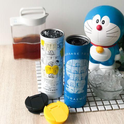 7 11推出「哆啦a夢元氣新生活集點送!」漫畫連載手稿跳進保溫瓶、電腦螢幕架等限定商品