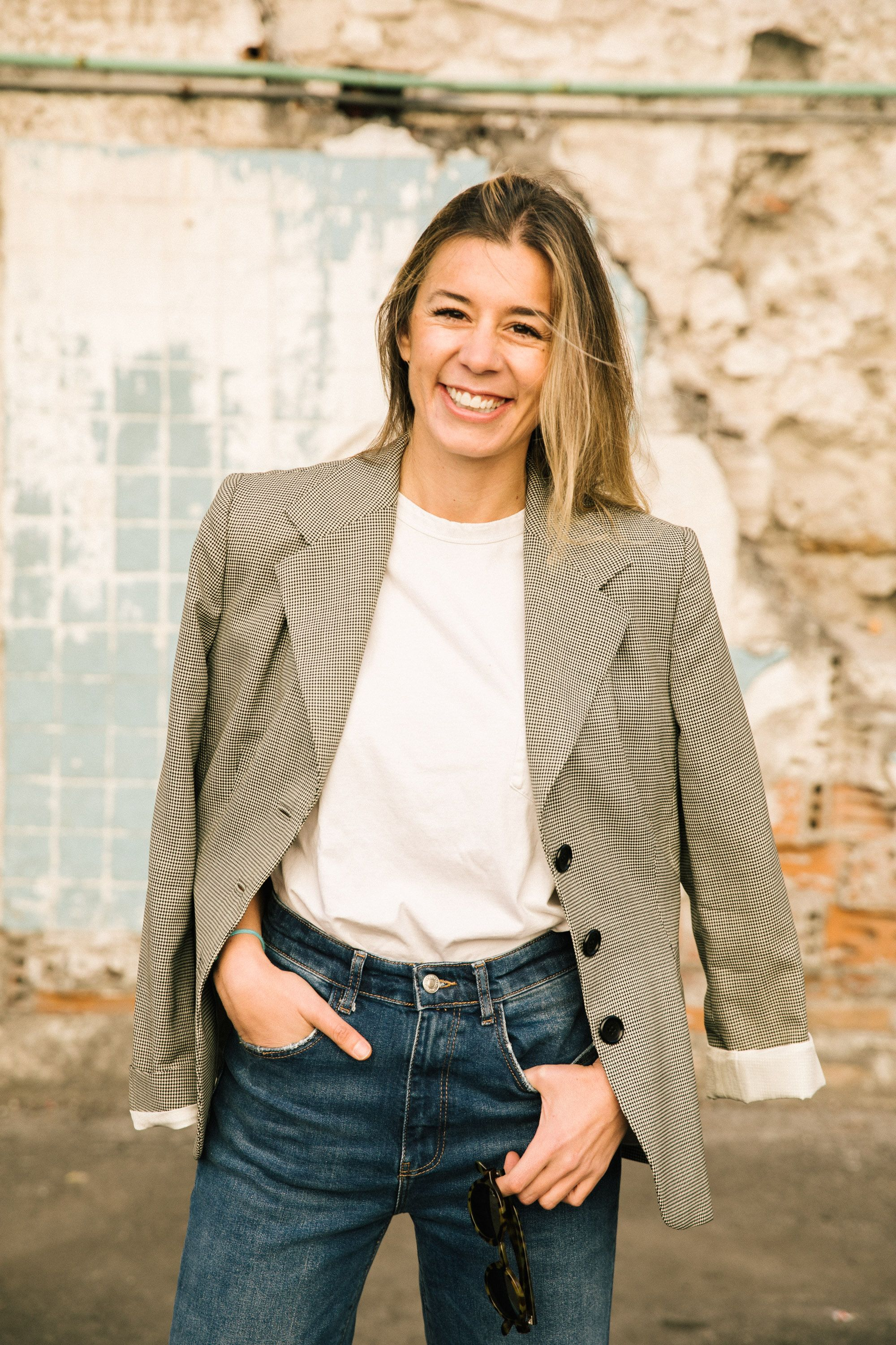 """María Martín López Freelance Planner and Designer, @mexymery """"My personal style is very relaxed, but I always keep things elegant."""""""