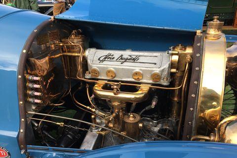Engines at Pebble Beach 2019