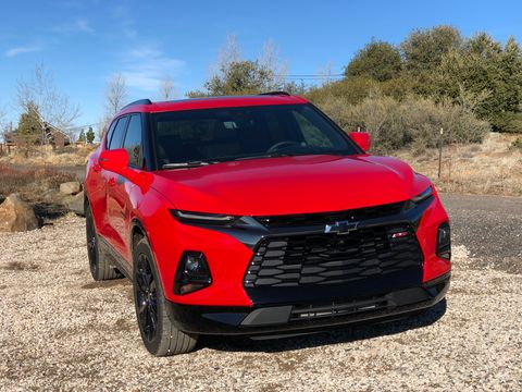 2019 Chevy Blazer First Drive and Technology Review