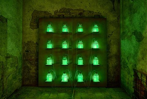 Green, Architecture, Dungeon, Building,