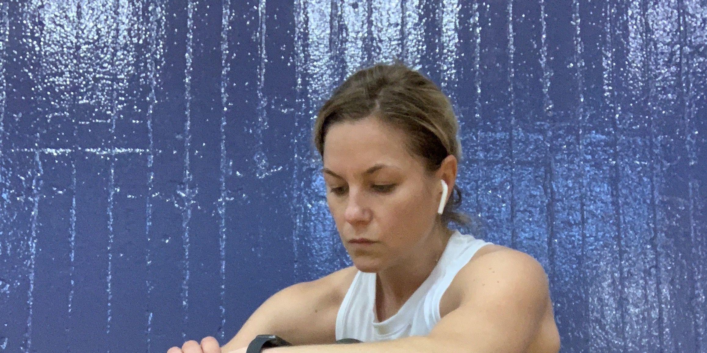 Liz PLosser tests the Apple Watch Series 4