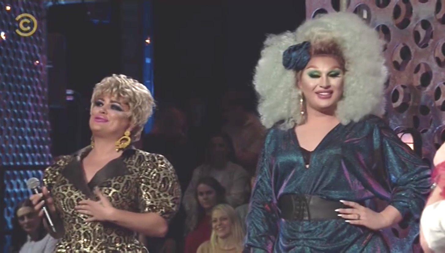 RuPaul's Drag Race UK stars are victorious after hilarious Roast Battle UK against Denim