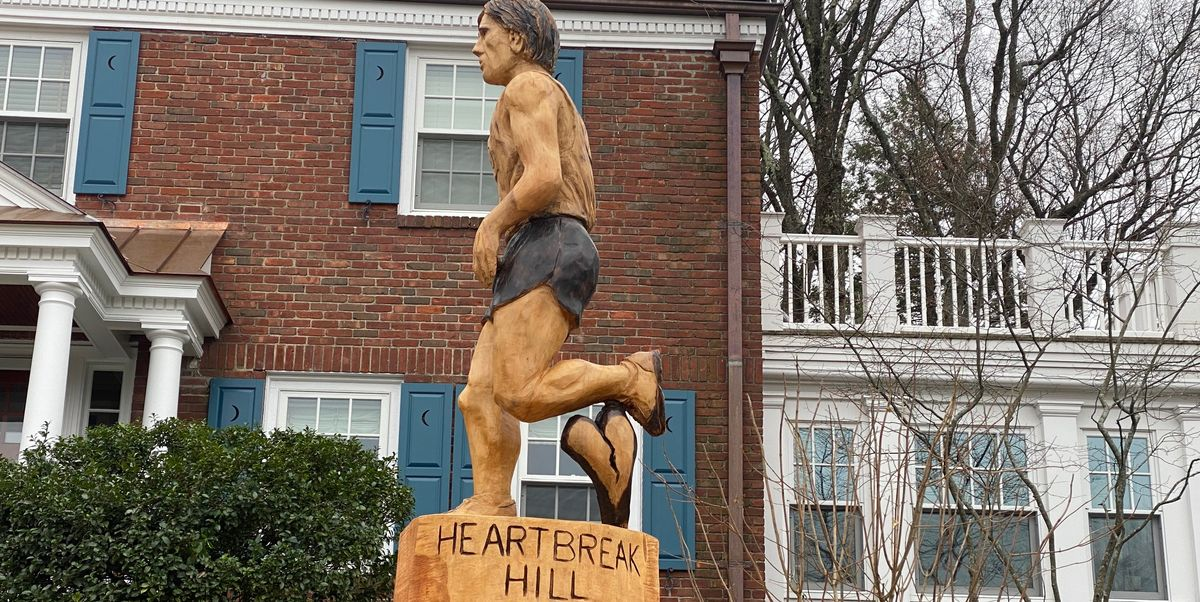 There's a New Wooden Sculpture on Heartbreak Hill